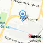 Доменика на карте Белгорода