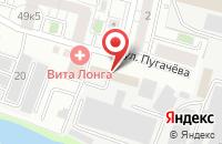 Схема проезда до компании Прогресс в Белгороде