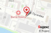 Схема проезда до компании Арлан в Белгороде
