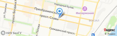 Центр Специальной Связи и Информации Федеральной Службы Охраны РФ на карте Белгорода