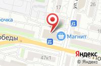 Схема проезда до компании Адвокатский кабинет Гордеева А.С. в Белгороде