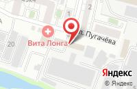 Схема проезда до компании Алан в Белгороде