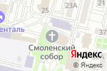 Схема проезда до компании Воскресная школа в Белгороде
