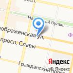 Управление ФСБ России по Белгородской области на карте Белгорода
