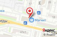 Схема проезда до компании СтандартСтройДом в Белгороде