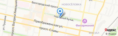 БРОФСС на карте Белгорода