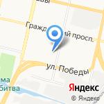 АСЦ BelGSM на карте Белгорода