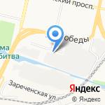 Центр охраны труда Белгородской области на карте Белгорода