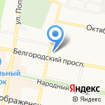РЕСО-Гарантия на карте Белгорода