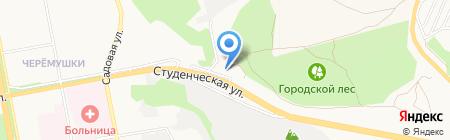 Инсолито на карте Белгорода