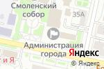 Схема проезда до компании Департамент городского хозяйства в Белгороде