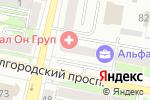 Схема проезда до компании МузТорг в Белгороде