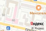 Схема проезда до компании Белгород экспорт–импорт в Белгороде