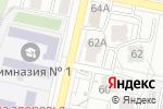 Схема проезда до компании Яркий Праздник в Белгороде
