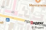 Схема проезда до компании КБ Ренессанс кредит в Белгороде