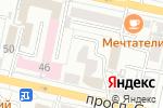 Схема проезда до компании Копи Сервис в Белгороде