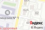 Схема проезда до компании Шоко-Лавка в Белгороде