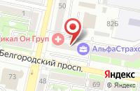 Схема проезда до компании Tour Pay в Белгороде