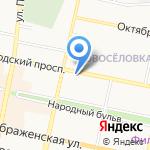 Компания по продаже и обслуживанию оборудования для воды на карте Белгорода