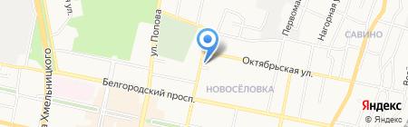 Пивовар на карте Белгорода