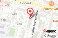 Схема проезда до компании Игрополис в Белгороде