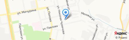Управление ГИБДД по Белгородской области на карте Белгорода