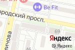 Схема проезда до компании Студия Воды в Белгороде