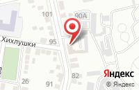 Схема проезда до компании Энергия в Белгороде