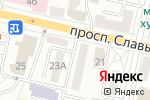 Схема проезда до компании Бюро Правовой Защиты в Белгороде