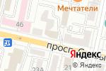 Схема проезда до компании Дежавю в Белгороде