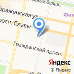 Белгородский районный суд на карте Белгорода