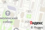 Схема проезда до компании Белгородский районный суд в Белгороде