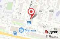 Схема проезда до компании Салон натяжных потолков и жалюзи в Белгороде