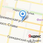 Зооуголок на карте Белгорода