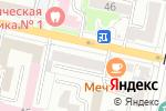 Схема проезда до компании Заря в Белгороде