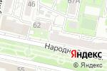 Схема проезда до компании iPad31.ru в Белгороде