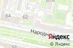 Схема проезда до компании Рукавичка в Белгороде