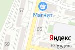 Схема проезда до компании Студия красоты в Белгороде