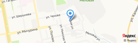 Белагросельхозснаб на карте Белгорода