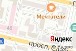 Схема проезда до компании Кредит Финанс-Белгород в Белгороде