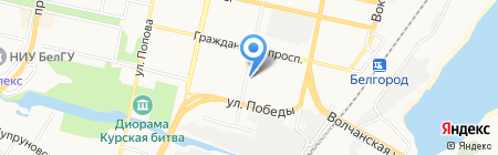 БелЭнергоСтрой на карте Белгорода