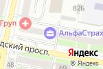 Схема проезда до компании ЦифроСервис в Белгороде