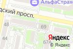 Схема проезда до компании Отдел военного комиссариата Белгородской области по Восточному округу г. Белгорода в Белгороде