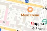 Схема проезда до компании Major Express в Белгороде