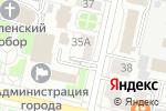 Схема проезда до компании Фирма компьютерной помощи в Белгороде