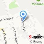 Набат на карте Белгорода