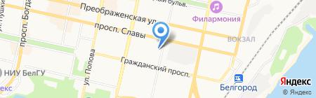 Первая сбытовая компания на карте Белгорода
