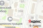 Схема проезда до компании Гламур в Белгороде