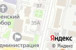 Схема проезда до компании Картридж мастер в Белгороде