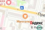 Схема проезда до компании Голос Белогорья в Белгороде